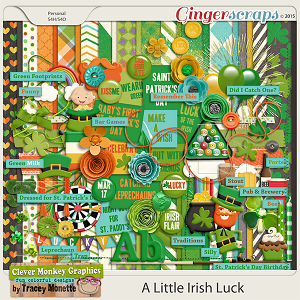 A Little Irish Luck by Clever Monkey Graphics