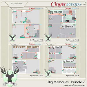 Big Memories Template Bundle 2
