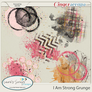 I am Strong Grunge