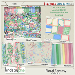 Floral Fantasy Collection by Lindsay Jane