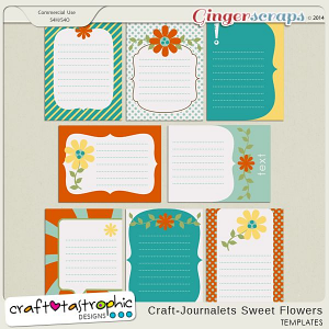Craft-Journalets Sweet Flowers