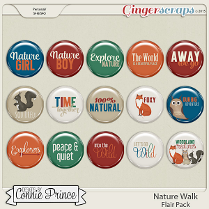 Nature Walk - Flair Pack