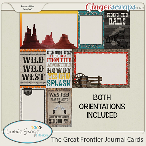 The Great Frontier Journal Cards