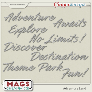 Adventure Land CHROME TITLES
