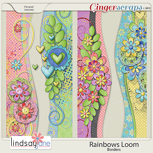Rainbows Loom Borders by Lindsay Jane