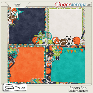 Sports Fan - PreDeco Papers
