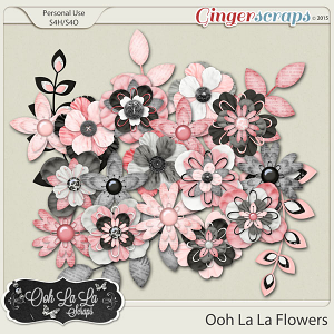 Ooh La La Layered Flowers
