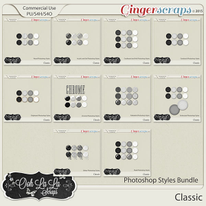Classic Photoshop Styles Bundle