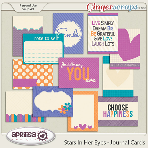 Stars In Her Eyes - Journal Cards