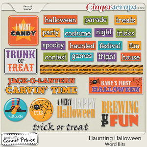 Retiring Soon - Haunting Halloween - Word Bits