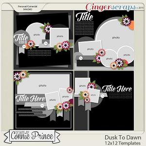 Dusk To Dawn - 12x12 Templates (CU Ok)