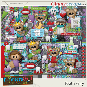 Tooth Fairy by BoomersGirl Designs