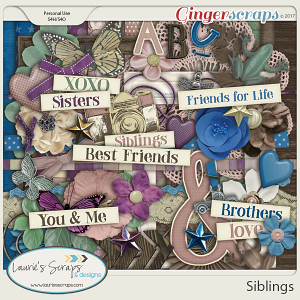 Siblings Page Kit