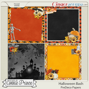 Halloween Bash - PreDeco Papers