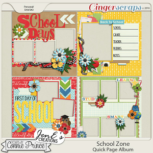 School Zone - Quick Pages