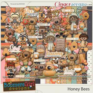 Honey Bees by BoomersGirl Designs