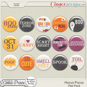 Hocus Pocus - Flair Pack