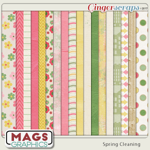 Spring Cleaning PAPERS by MagsGraphics