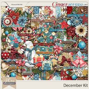 December Kit by JoCee Designs