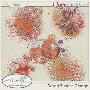Desert Sunrise Grunge