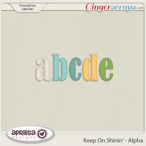 Keep On Shinin' Alpha by Aprilisa Designs