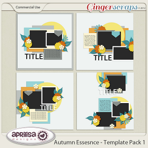 Autumn Essence - Template Pack 1