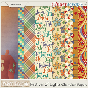 Festival Of Lights Chanukah Papers