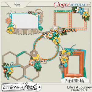 Retiring Soon - Project 2014 July: Life's A Journey - Cluster Pack