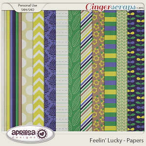 Feelin' Lucky - Papers by Aprilisa Designs