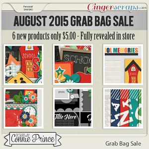 August 2015 Grab Bag Sale - School Supplies
