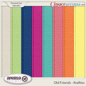 Old Friends - Krafties by Aprilisa Designs