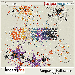 Fangtastic Halloween Scatterz by Lindsay Jane