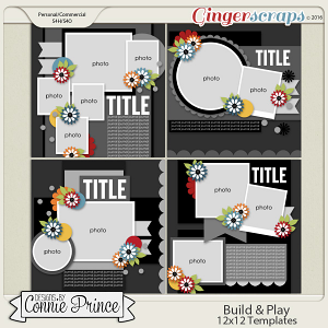 Build & Play - 12x12 Templates (CU Ok)