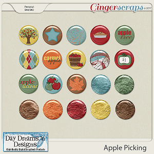 Apple Picking {Flairs} by Day Dreams 'n Designs