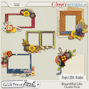 Project 2014 October: Bountiful Life - Cluster Pack