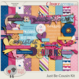 Just Be-Cousin Kit by Luv Ewe Designs