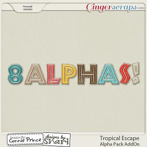 Retiring Soon - Tropical Escape - Alpha Pack AddOn