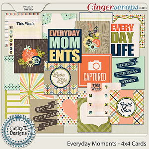 Everyday Moments - 4x4 Cards