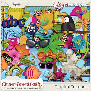 GingerBread Ladies Collab: Tropical Treasures