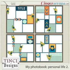 My photobook: personal life 2.