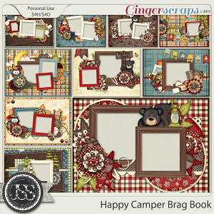Happy Camper Brag Book