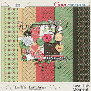 Love This Moment Digital Scrapbook Kit By Dandelion Dust Designs