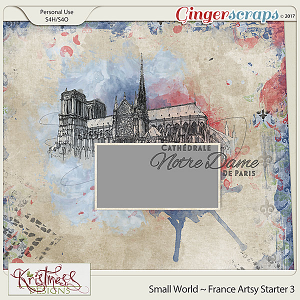 Small World ~ France Artsy Starter 3