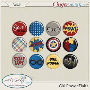 Girl Power Flairs