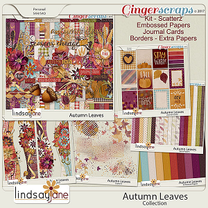 Autumn Leaves Collection by Lindsay Jane