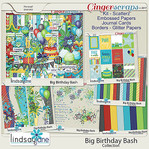 Big Birthday Bash Collection by Lindsay Jane