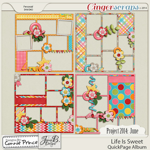 Project 2014 June:  Life Is Sweet - QuickPages