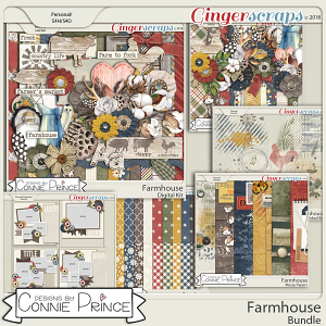 Farmhouse- Core Bundle by Connie Prince
