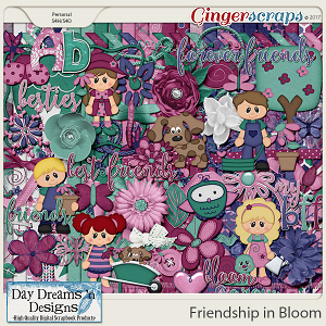 Friendship in Bloom {Kit} by Day Dreams 'n Designs