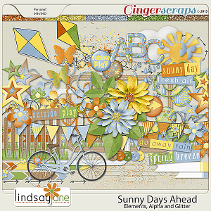 Sunny Days Ahead Elements by Lindsay Jane
